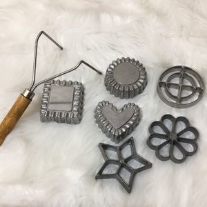 Nordic Ware Rosette & Timbale Iron 7 Piece Set